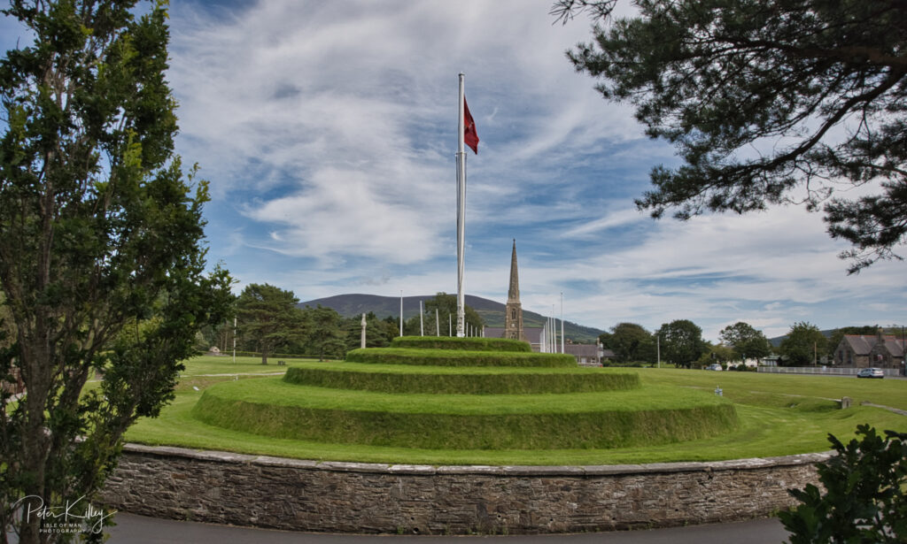 Tynwald Hill - © Peter Killey - www.manxscenes.com