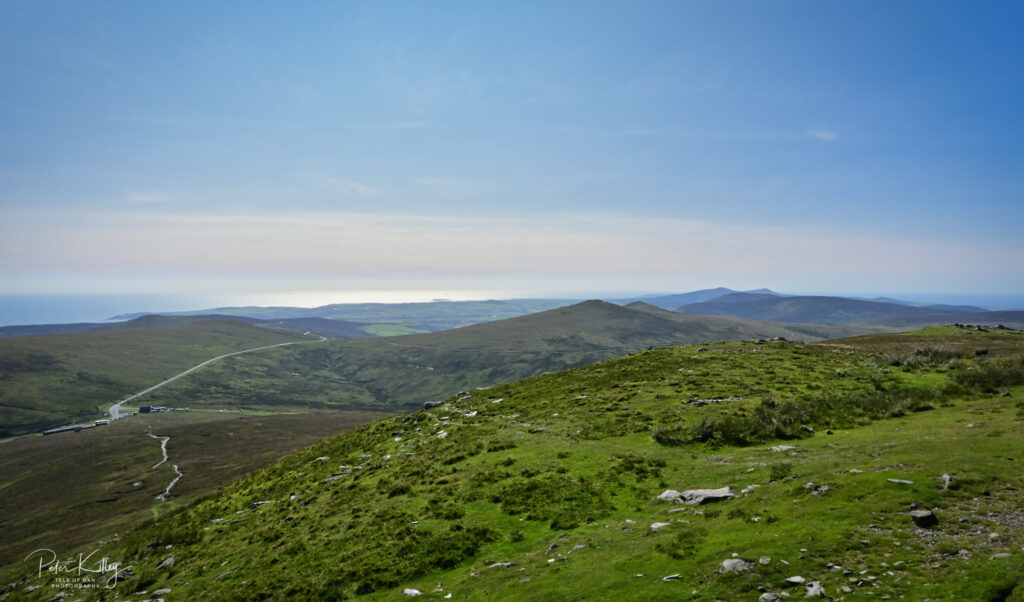 Looking South from Snaefell © Peter Killey - www.manxscenes.com
