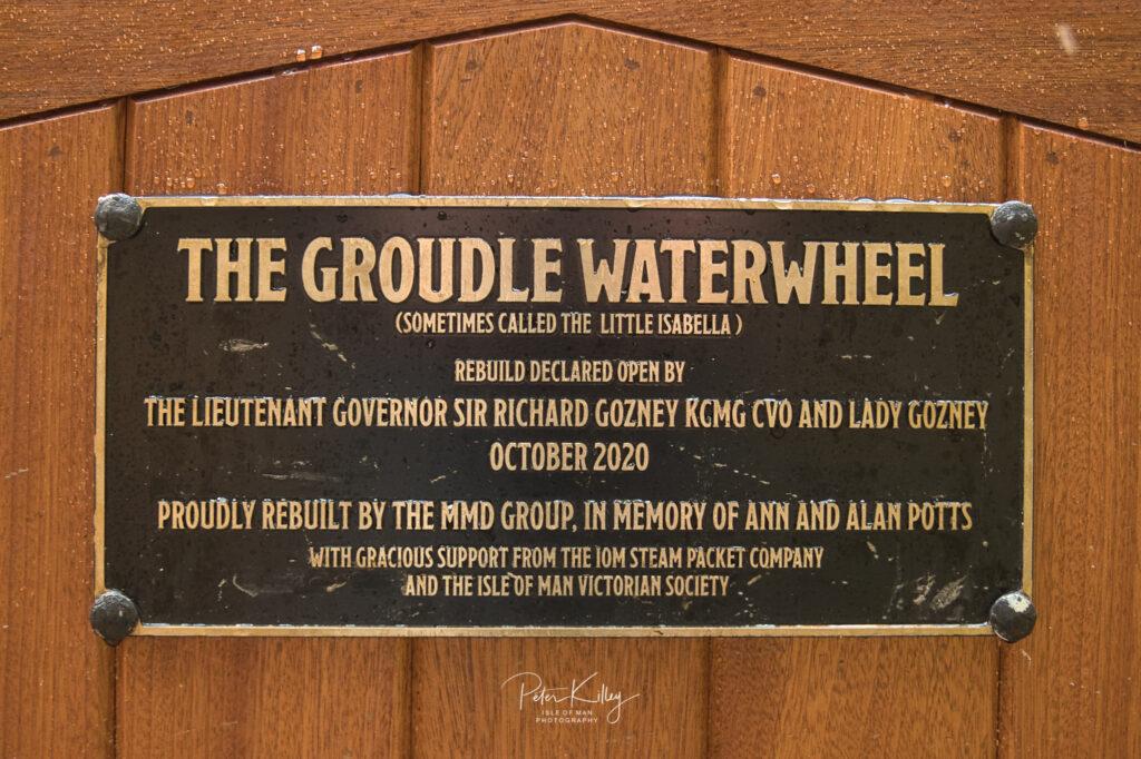 Groudle Glen Waterwheel - © Peter Killey - www.manxscenes.com