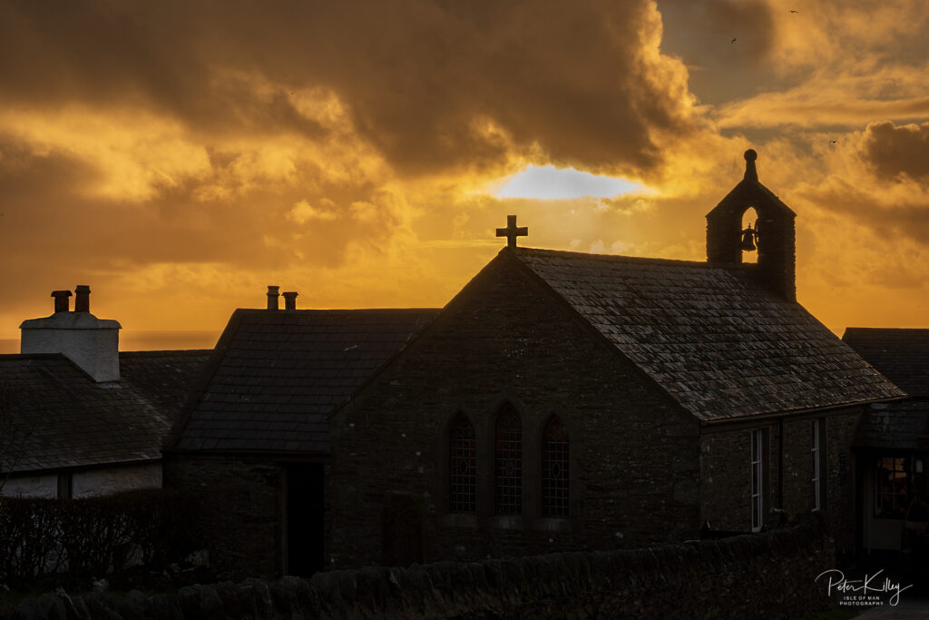 Cregneash Winter Sunset -  © Peter Killey - www.manxscenes.com
