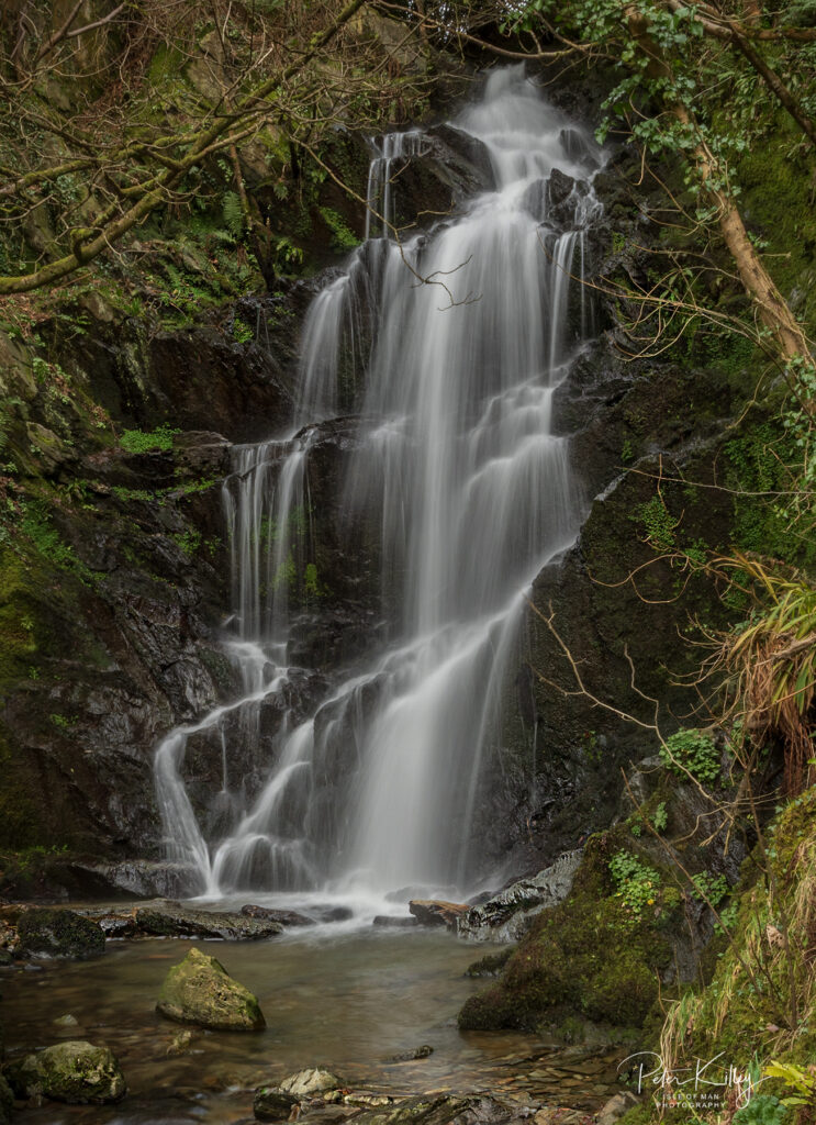 Quarry Falls, Laxey - © Peter Killey - www.manxscenes.com
