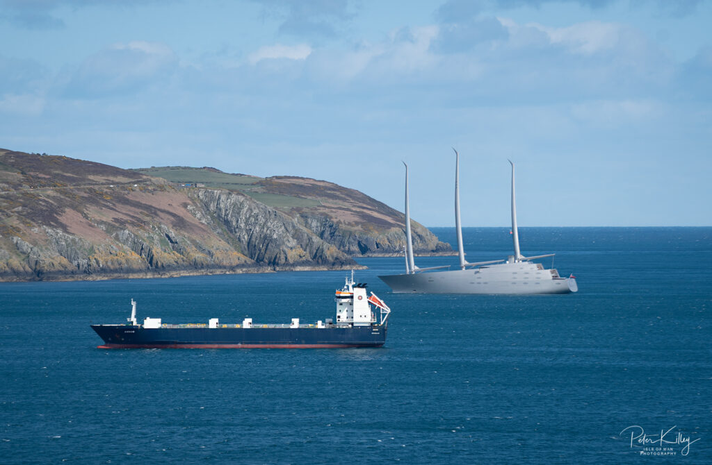 Superyachta - Isle of Man April 2020 - © Peter Killey - www.manxscenes.com