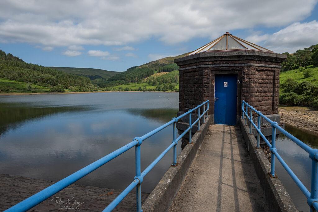 Injebreck Reservoir - © Peter Killey - www.manxscenes.com