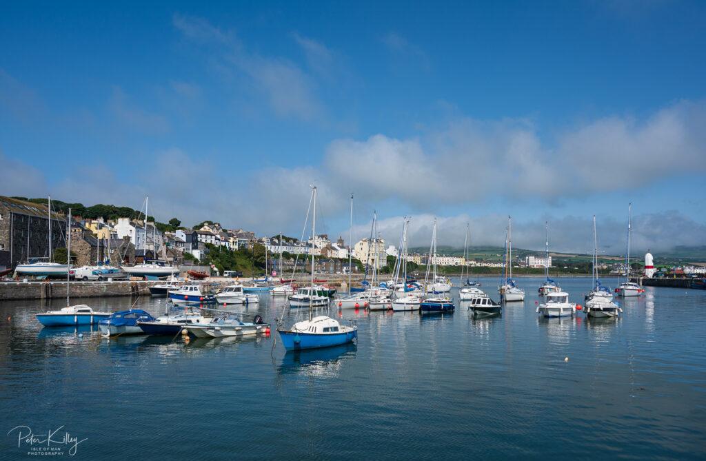 Port St Mary Inner Harbour - © Peter Killey - www.manxscenes.com