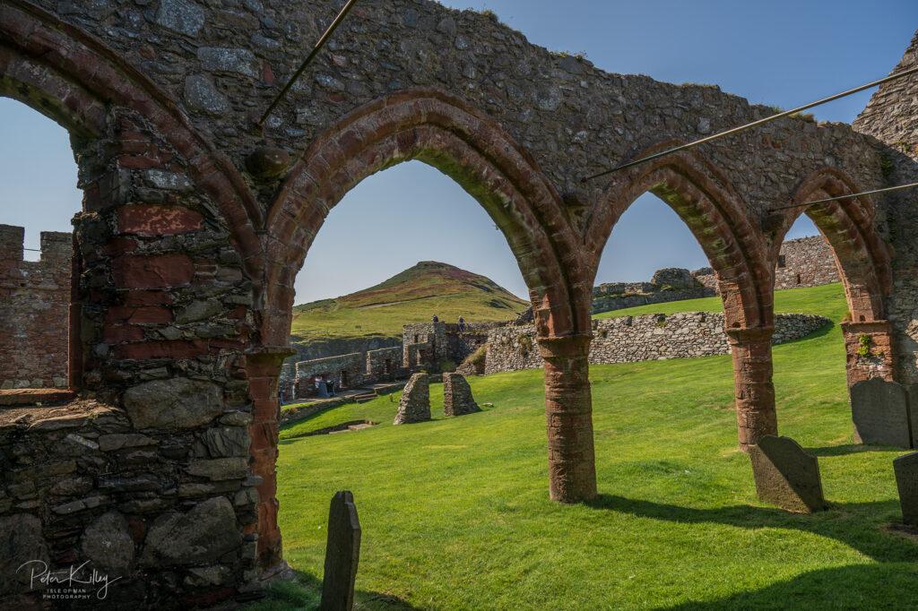 Peel Castle - Isle of Man - © Peter Killey - www.manxscenes.com