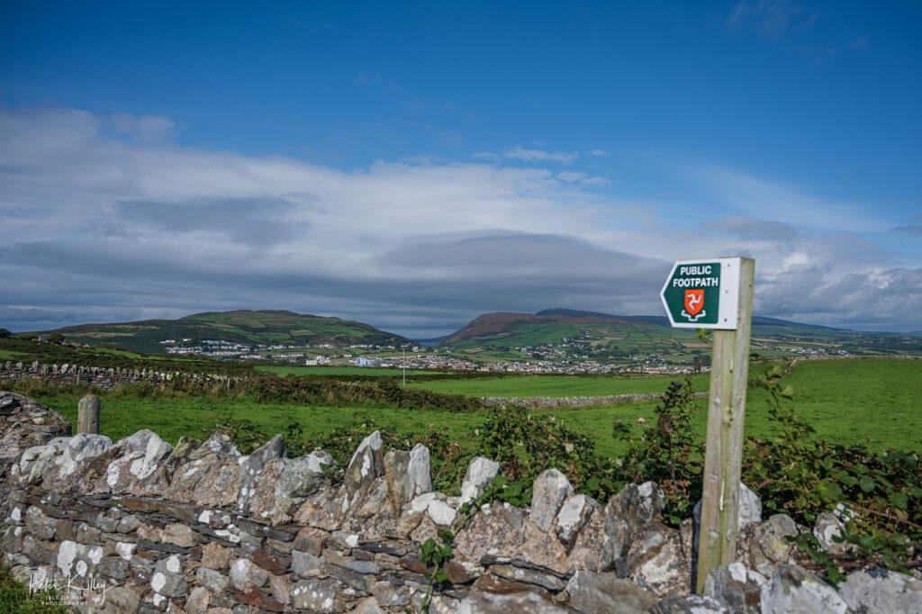 Port Erin from Creagneash Road - © Peter Killey - www.manxscenes.com