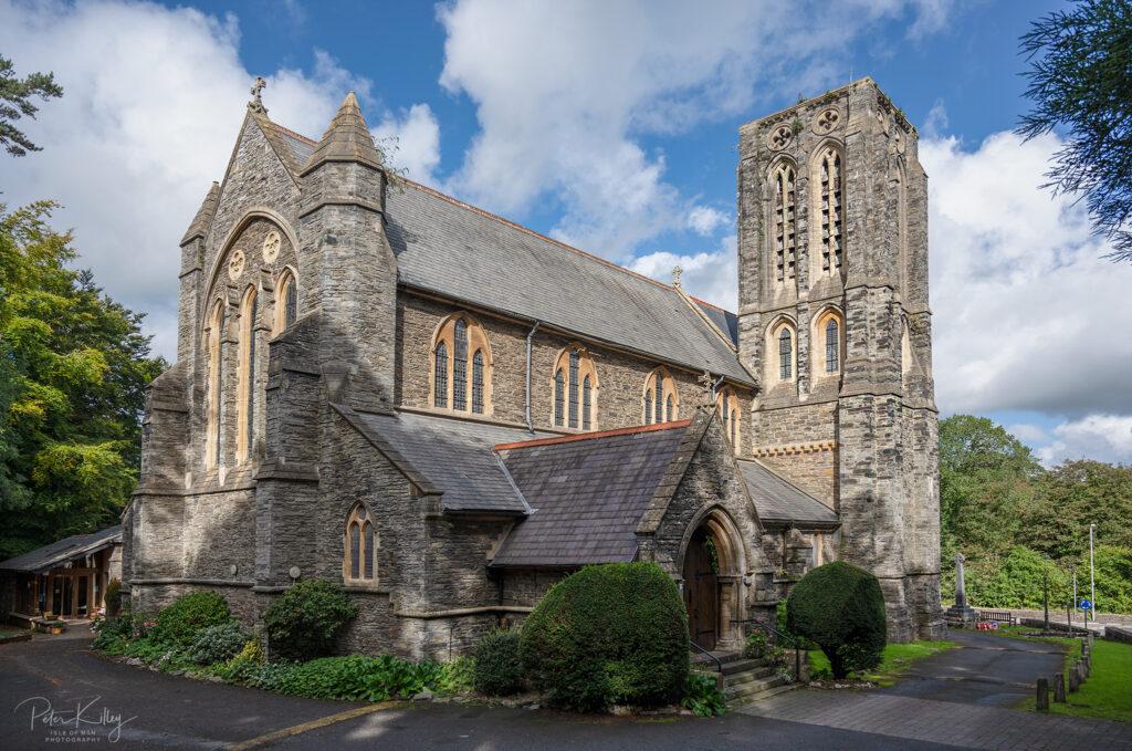 Kirk Braddan Church - © Peter Killey - www.manxscenes.com