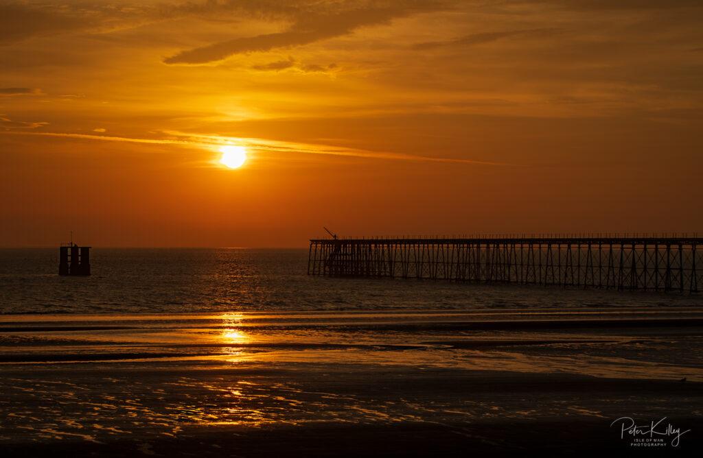 Ramsey Queens Pier Sunrise - Isle of Man - © Peter Killey - www.manxscenes.com